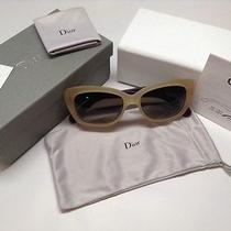 New Authentic Dior Promesse 3 Ph003a X3th Honey Cream Sunglasses Photo