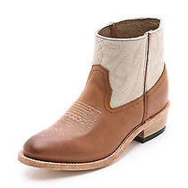 New Authentic Dolce Vita Brown Camilla Western Booties (Size 7.5) Photo