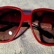 New Authentic Gucci Women's Sunglasses Gg3108s Red  Photo