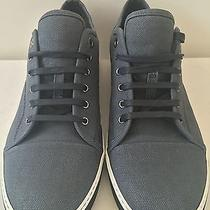 New Authentic Lanvin Mens Low Top Sneakers Size 11 Photo