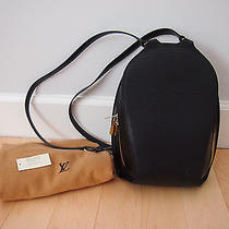 New Authentic Louis Vuitton Epi Leather Mabillon Backpack (Black) Photo