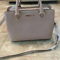 New Authentic Michael Kors Savannah Blush Handbag Md Medium Satchel Women's Photo