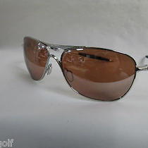 New Authentic Oakley Crosshair Sunglasses Chrome / Vr28...never Displayed Photo