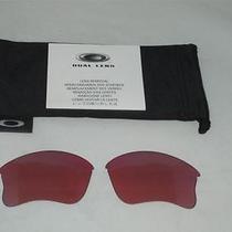 New Authentic Oakley Flak Jacket G-30 Xlj Golf Lenses & Bag Free Usa Shipping Photo