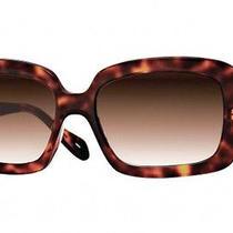 New Authentic  Oliver Peoples  Freya Dm Dark Mahogany Sunglasses Photo