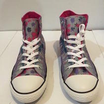 New Authentic Paint Print Converse Chuck Taylor Size 8 Women  Photo
