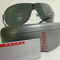 New Authentic Prada Sunglasses Aviator Sps 54h Closeout Best Prices  Photo