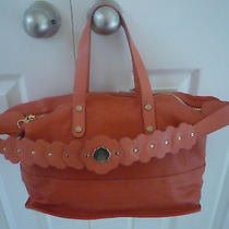 New Authentic See by Chloe Leather Tote Handbag Purse Hobo ( Retail 595) Photo