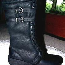 New Authentic Ugg Torino Boots Antique Black Size 7 Italian Collection Photo