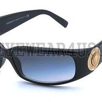 New Authentic Versace Ve 4044-B 4044b 870/8g Black Sunglasses Photo