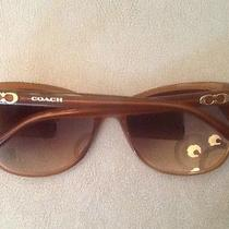 New Authentic Women's Gold Coach Sunglasses Photo