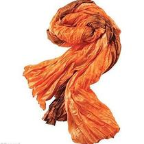 New  Avon Crinkle Scarf Photo
