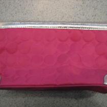 New Avon Hot Pink & Silver Summer Bag Photo