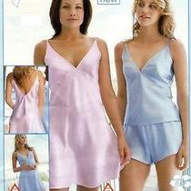 New Avon Ladies Satin Nightie Chemise Summer Holiday Pink 18-20 Gorgeous Photo