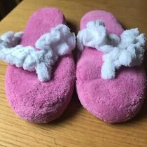 New Avon Medium (7-8) Pink Soft and Plush Memory Foam Slippers Photo