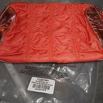 New   Avon Orange Bag  Small Purse Make Up Bag Photo