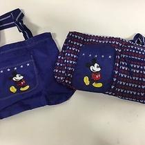 New Avon Patriotic Mickey Weekend Bag Set Photo