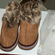 New Avon-Soft - Cozy - Clog - Slipper Camel Large (9-10) Fall-to-Winter Slipper Photo
