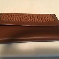 New Avon Vintage Genuine Leather Cowhide 3 Fold Wallet Credit Card Pockets  Photo