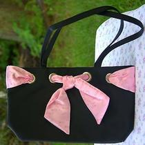 New Avon Women's Black & Pink Breast Cancer Awareness Purse Photo