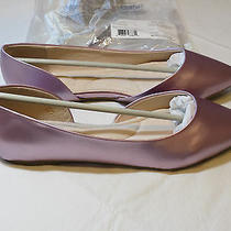 New Avon Womens Cushion 11 d'orsay Flat Pink Rose Dress Casual Shoes F3903051  Photo