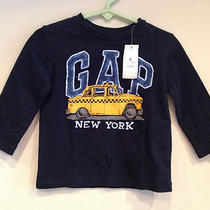 New Baby Gap Boys Print Shirts Ny San Francisco Free Hugs Size 12-18 Months Photo