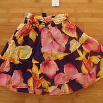 New Baby Gap Girl Toddler 18  24 Months Maxi Skirt Dress 2 in 1 Purple Floral  Photo
