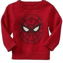 New Baby Gap Nwt Boys Junk Food Spiderman Sweater 2t Photo