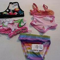 New Baby Girls Size 12-18 Months Old Navy & Gap Misc Swimsuit Pieces (Qty 5) Photo