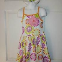 New Baby Lulu Alexa Bliss Floral Sun Dress Size 6 Adorable Photo