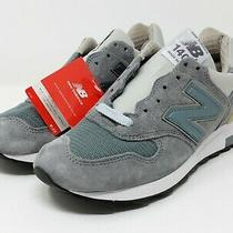 New Balance 1400 Sneakers Steel Blue Grey Made in Usa M1400sb Men's Sz 6 Photo