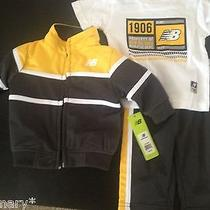 New Balance 3pcs Set for a Baby Infant Boy Size 6-9 Mos New Photo