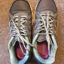 New Balance 402 Gray Teal Purple Trail Running Shoes We402ga1 Size 7 Photo