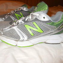 New Balance 480 Running Shoes 7 1/2b Gray and Green   Make an Offer Photo