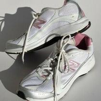 New Balance 496 Walking Shoes Women's Size 9 Pink White Casual Low Top Sneakers Photo
