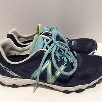 New Balance 520 We520nl2 Women Sz 9.5 Lace Up Sneaker Running Gym Shoe Navy Teal Photo