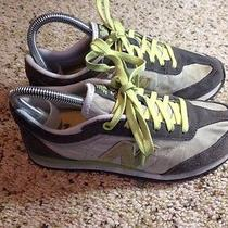 New Balance 556 Women's Sneakers Size 6 Green and Tan Ked Photo