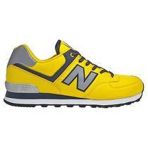 New Balance 574 Classic Running Sneakers Yellow Size 12 Photo