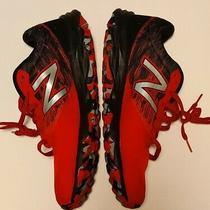 New Balance 690v2 Trail Running Shoes Red Black Mens Size 9.5 4e Photo