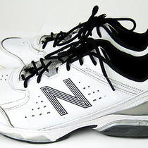 New Balance 709 Men's White & Grey Athletic Running Trainer Shoes Size 8 Awesome Photo