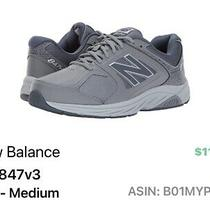 New Balance 847 V3 Sneakers Walking Gray Size 9 Preowned in Pristine Condition Photo