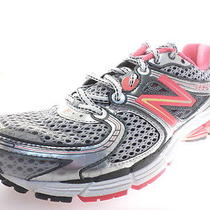 New Balance 860 Womens Running Shoes W860sp3 Pink Shock/slvr/blck Size 9.5 B Photo