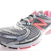 New Balance 860 Womens Running Shoes W860sp3 Pink Shock/slvr/blck Size 10 B Photo