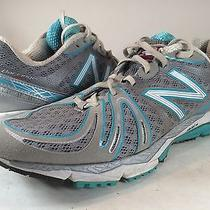 New Balance 890v2 Blue Grey Running Shoes Womens 7.5b 38 Althetic Sneakers Photo