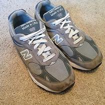 New Balance 993 Made Usa Gray Suede Trainer Athletic Running Shoes Men's 9.5 2e Photo