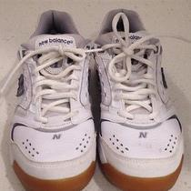 New Balance Athletic Tennis Shoes White Size 6 1/2 Euc Photo