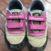 New Balance Kids Sneakers - Pink/ Multicolor- Size 13 Photo