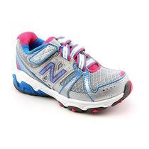 New Balance Kv689 Youth Girls Size 11.5 Gray Wide Mesh Running Shoes Photo
