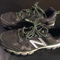 New Balance Men's 710v2 Trail Running Shoe Mt710bg2  8 Black/green Photo