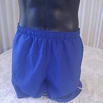 New Balance Mens Large  Blue Running Shorts Running Lightning Dry Mint Condition Photo